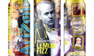 Artist Richard Prince teams up with Arizona Drinks for 'Lemon Fizz'