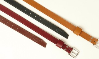 Voss Leather Belts for YMC – 'The Agent'