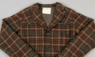 Waste(twice) 'Country Check Tweed' Safari Jacket