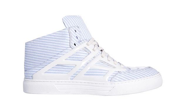 Alejandro Ingelmo for Michael Bastian Seersucker Tron Sneakers