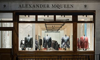 Alexander McQueen Men's Flagship Savile Row – A Look Inside