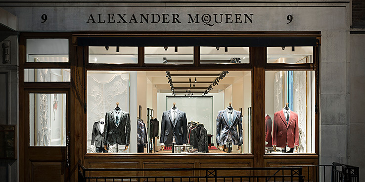 Alexander McQueen Menswear Flagship Savile Row - Now Open