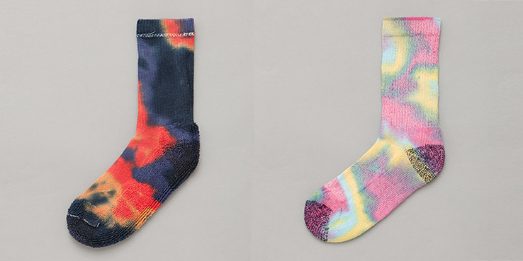 Anonymous Ism Tie-Dyed Socks - Made in the U.S.A.