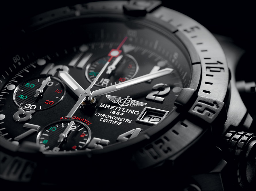 "Breitling Avenger Blacksteel ""Águila Real Mexicana"" Chronograph"