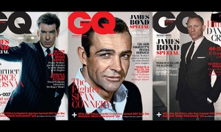 British GQ – 6 James Bond Leading Men Covers