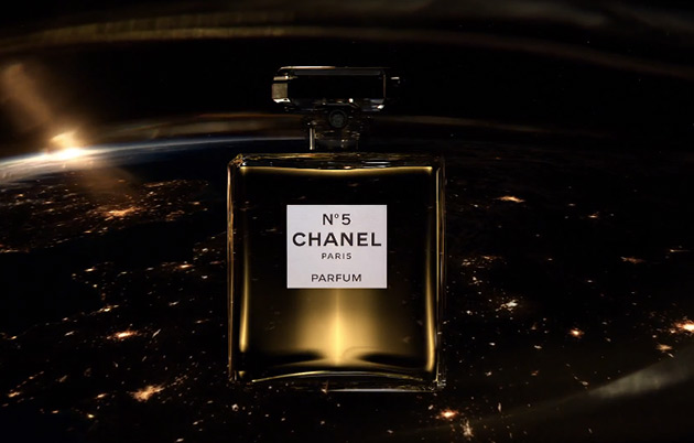 More Brad Pitt for Chanel No.5