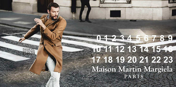 Maison Martin Margiela for H&M Collection - Campaign Looks