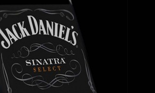 Jack Daniel's Frank Sinatra Select Whiskey Bottle