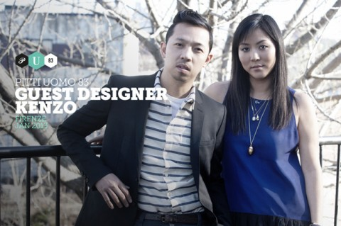 Maison Kitsuné and Kenzo Named Guest Designers of Pitti W, Pitti Uomo