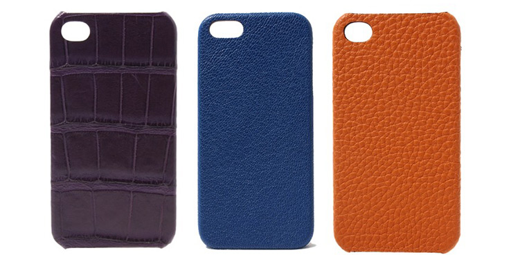 Maison Takuya 15 Leather iPhone5 Cases - Crocs and Goats Included
