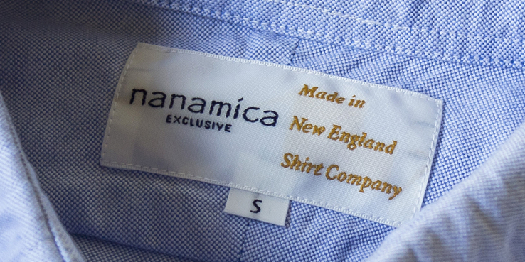 nanamica new england shirt