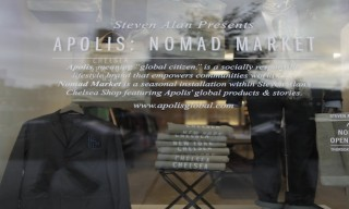 Apolis' Nomad Pop-Up Market at Steven Alan – A Look Inside