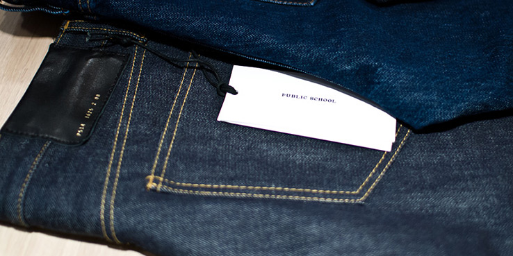 Public School NYC Denim Launch