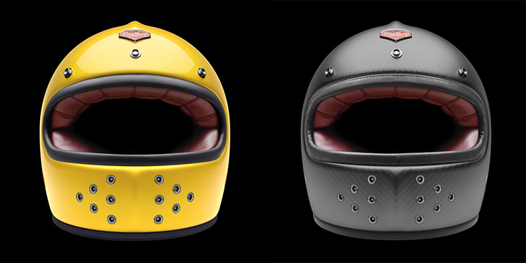 Ruby 5th Anniversary Helmets - The Full Face Castel