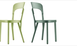 Thonet 107 Chair by Robert Stadler