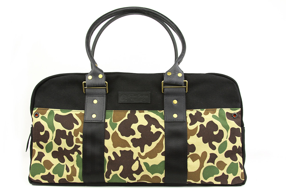 Wheelmen & Co. The Scout Series Vintage Camo Duffle Bag