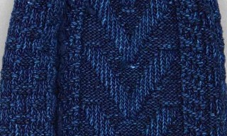 Anonymous Ism Indigo Knit Socks
