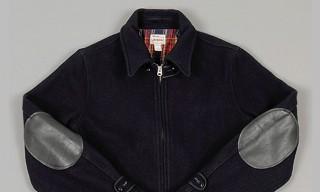 Big Yank 'Yankshire' Navy Melton Wool Sports Jacket