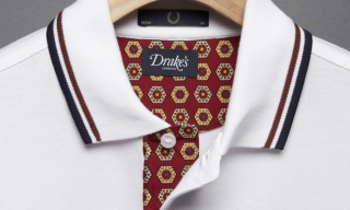 Drake's of London for Fred Perry Blank Canvas