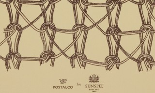 Postalco for Sunspel – 1950s Print Stationary and Wallets