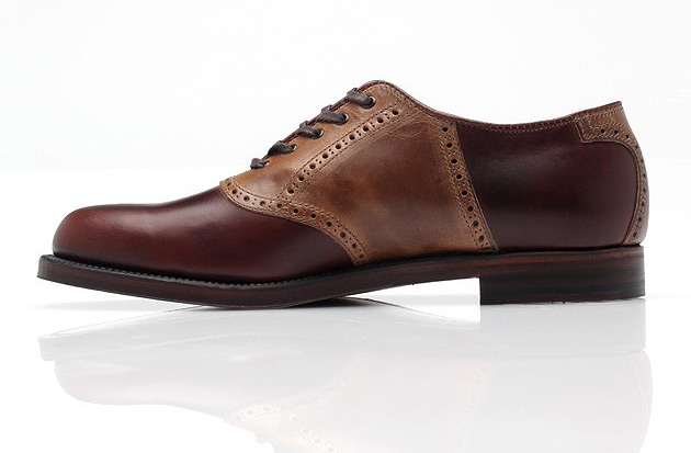 Alden for Need Supply Co. Sheppard Street Saddle Shoe