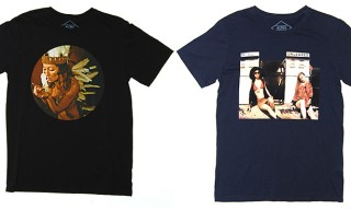 Neil Krug T-Shirts for Pulp Art Book Volumes by Altru