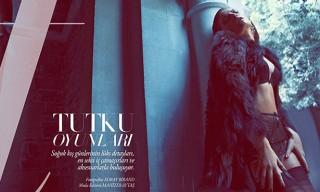 Alyssa Miller in Lingerie for Harper's Bazaar (Turkey) December 2012