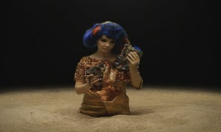 "Bjork On Her New Video ""Mutual Core"""
