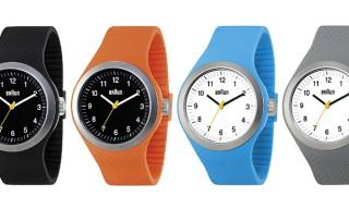 Braun Sportrange Watch in Colors