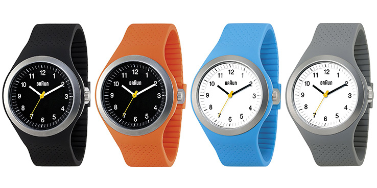 BRAUN Sportrange Watches in Colors