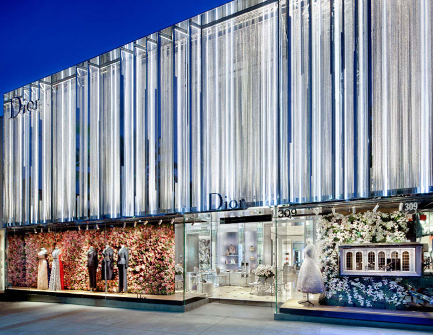 Dior Beverly Hills Boutique Redesigned