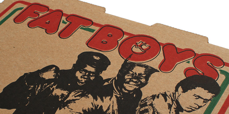 FAT BOYS Pizza Box Vinyl Picture Disc Reissue for Record Store Day