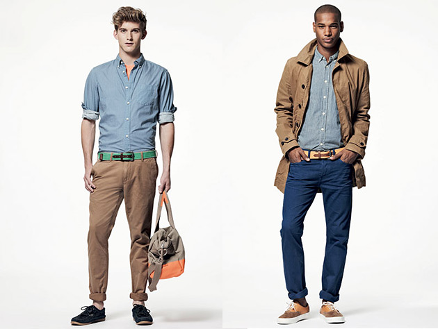 GAP Spring Summer 2013 Menswear Preview