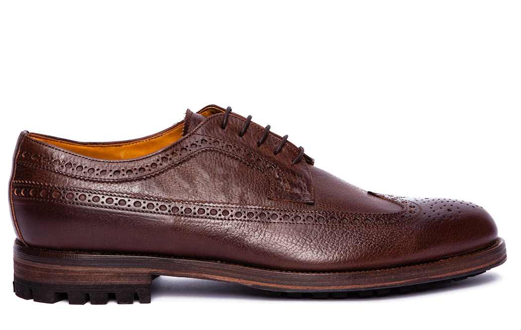 Brown Wingtip Shoes from J. Lindeberg