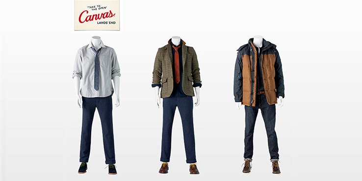 Canvas Lands' End Arrivals: Pop-up Shop Now Online.