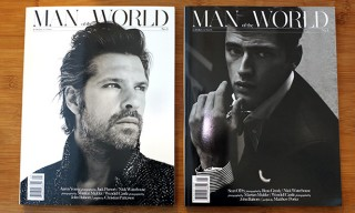 Man of the World Debut Issue with Split Covers – A Look Inside