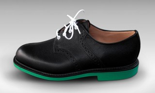 "Mark McNairy and UNION LA for ""Heineken 100"" Saddle Shoes"