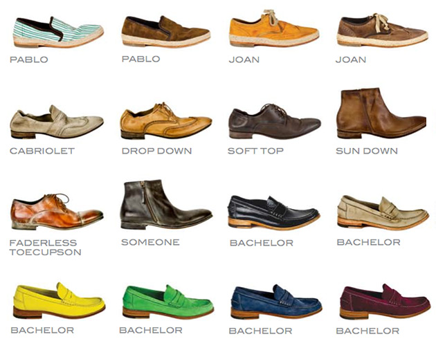 n.d.c. Men's Shoes - Spring 2013