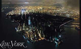 New York Magazine Manhattan Blackout Cover – Hurricane Sandy