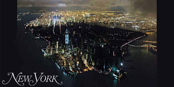 New York Magazine Stunning Manhattan Blackout Cover