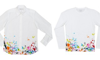 Ryan McGinness Studio Shirts for agnès b.