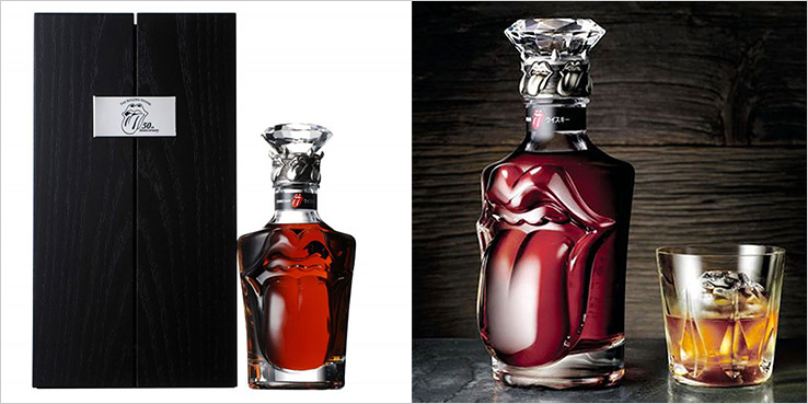 Suntory Limited Edition The Rolling Stones 50th Anniversary Whisky