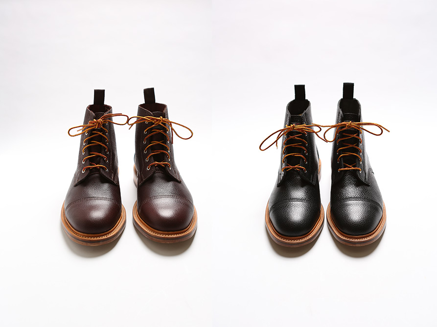 Woolrich Woolen Mills Cap Toe Boots - Black or Brown