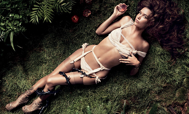 Paz de la Huerta for Agent Provocateur New Fragrance Campaign