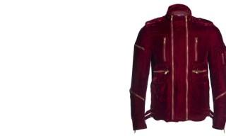 Blackmeans Velvet Zipper Jacket