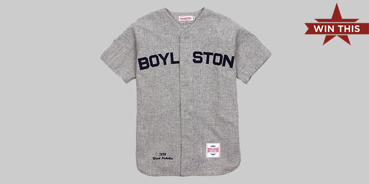 Win This! Mitchell & Ness for Boylston Trading Co. Vintage Baseball Jersey