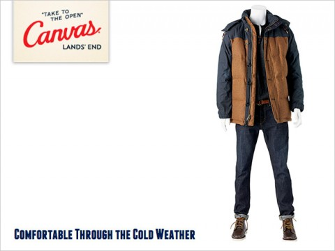 Canvas Lands' End Arrivals: Comfort Through the Cold