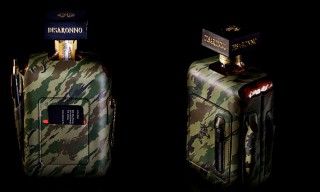 Maharishi & Bagjack for Disaronno Limited Edition Bottle Wrap