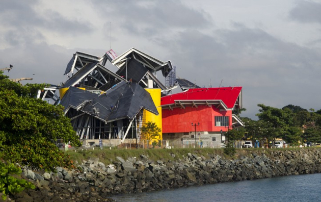 Frank Gehrys Biomuseo in Panama City