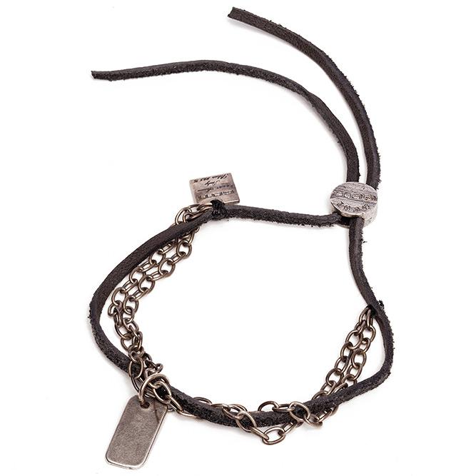 goti-black-bracelet-silver-charm-2